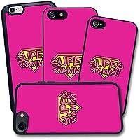 Cover Apple iPhone - Stampa Super Mamma Festa della Mamma Regalo - Apple iPhone 5 5S