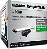 Rameder Komplettsatz, Dachträger Pick-up für Ford TOURNEO Connect/Grand TOURNEO Connect Kombi (111287-11574-46)