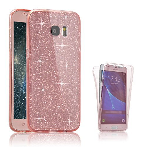 Samsung Galaxy S7 Custodia, Samsung Galaxy S7 Cover, Bonice Ultra Sottile PC Hard Back Antiurto Shock-Absorption Durable Case Elefante + 1x Protezione Dello Schermo Screen Protector Pattern 20