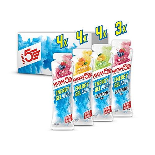 High5 High5 Pack Degustación De Geles Energéticos Con Agua - Gran Selección De Sabores - Incluye Geles De Energía Con Cafeína 1080 g