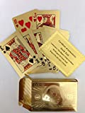 24K Gold Plated Playing Cards (Perfect for Christmas) (Gold)