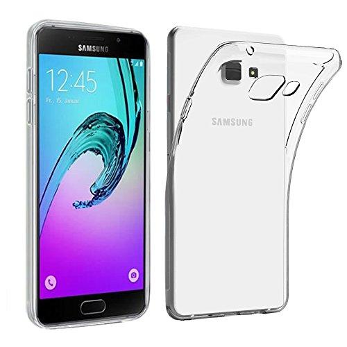 ebestStar - Compatibile Cover Samsung A5 2016 Galaxy SM-A510F Custodia Trasparente Silicone Gel TPU Protezione Morbida e Sottile, Trasparente [Apparecchio: 144.8 x 71 x 7.3mm, 5.2'']