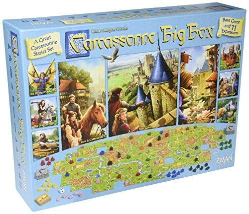 Z-Man Games ZMG7856 Carcassonne Big Box (2017 Edition)
