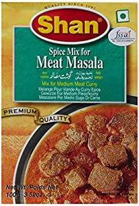 Shan Spice Mix for Meat Masala, 100g