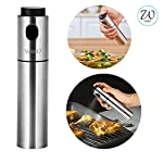 Features  100 ml capacity. Ideal size for oil spray. Stainless Steel body, BPA free. Easy to use and Mess free design. Reusable. Can be used with variety of liquids & dressings. 6 Months Limited Warranty.   Where to use West7 Oil Sprayer?  Can be...