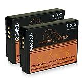 2 x Bater/ía MP EXTRA /® DMW-BCG10 DMWBCG10 para PANASONIC LUMIX DMC 3D1 3D1K TZ6 TZ7 TZ8 TZ9 TZ10 TZ18 TZ20 TZ22 TZ25 TZ30 TZ31 TZ65 ZR1 ZR3 ZS1 ZS3 ZS5 ZS6 ZS7 ZS8 ZS10 ZS15 ZS20 ZS25 ZS65 ZX1 ZX3