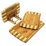 Relaxdays-Schneidebretter-Set-3-Gren-mit-Halter-Kchenbretter-aus-Bambus-gestreift-Brettchen-frs-Frhstck-in-modernem-Design-im-praktischen-Brettchenstnder-pflegeleicht-und-messerschonend-natur