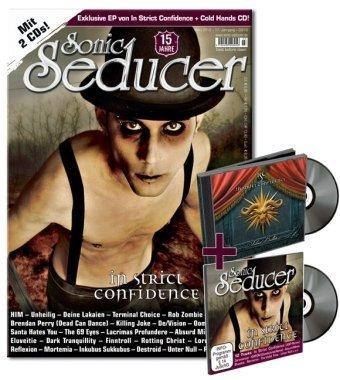 Sonic Seducer 03/2010: Mit exkl. 8-Track-EP 'Silver Bullets' im Jewelcase von In Strict Confidence & CD Beilage 'Cold Hands Vol. 104' im Digisleeve