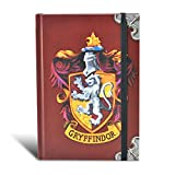 Harry Potter Hogwarts Grifondoro casa distintivo notebook A6 Gazzetta ufficiale