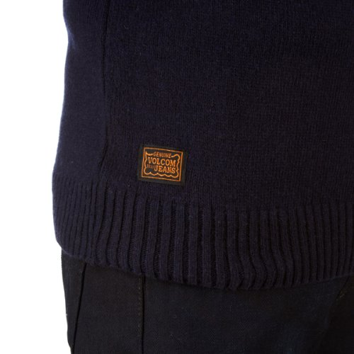 Volcom Brother Trucker Sweater Dark Navy Blau