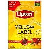 شاي اسود بالعلامة الصفراء من ليبتون - 100 جم
