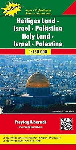 Freytag Berndt Autokarten, Heiliges Land - Israel - Palästina -