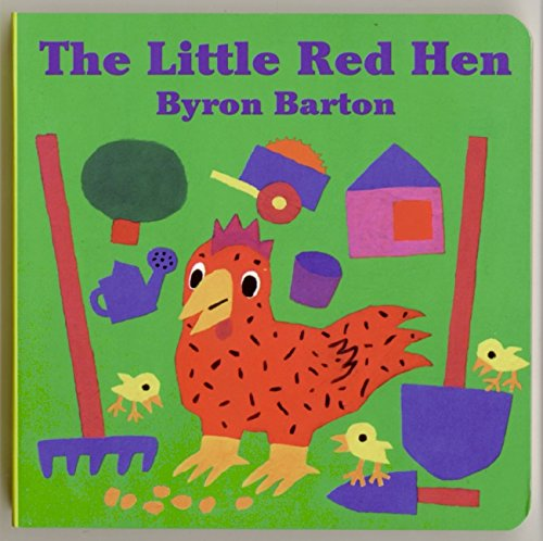 The Little Red Hen Board Book por Byron Barton