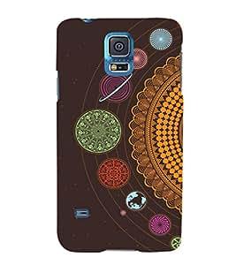 Fuson Premium Printed Hard Plastic Back Case Cover for Samsung Galaxy S5