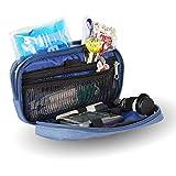 Isotherme-Tasche für Diabetiker | Denim Farben | Maße: 17 x 10 x 6 cm | Mobiclinic