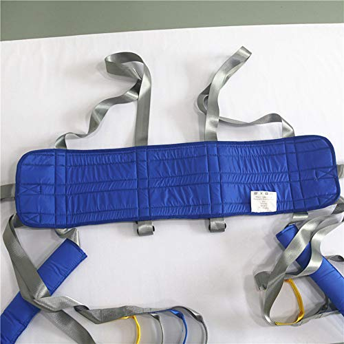 51d3Hi1HYqL - ZIHAOH Cabestrillo De Elevación De Paciente De Cuerpo Completo, Cinturón De Transferencia Médica De Elevación para Personas Mayores Discapacitados, Cinturón para Caminar Asistido por El Paciente