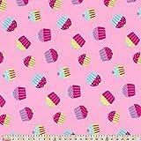 Plüsch Addict Baumwolle Stoff–Cupcake Toss