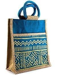 Women's Jute Eco Friendly Shopping Handbag With High Quality Print