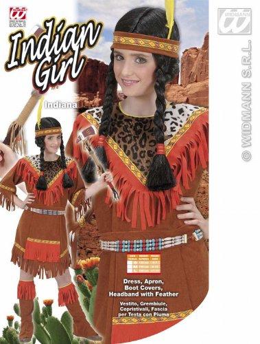 Imagen de widmann  disfraz para niño india, talla 158 58738  alternativa