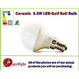 3,3W E14bombilla LED Epistar cerámica True, forma, rosca Edison pequeña, color blanco cálido, 3000K, ofertas especiales disponibles