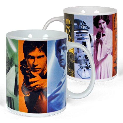 Star Wars Tasse Heroes Yoda,Han Solo,Luke Skywal