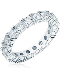 Rafaela Donata - Bague - Argent sterling 925 oxyde de zirconium - Bijoux pour femmes - En plusieurs tailles, bague oxyde de zirconium, bijoux en argent - 60800110