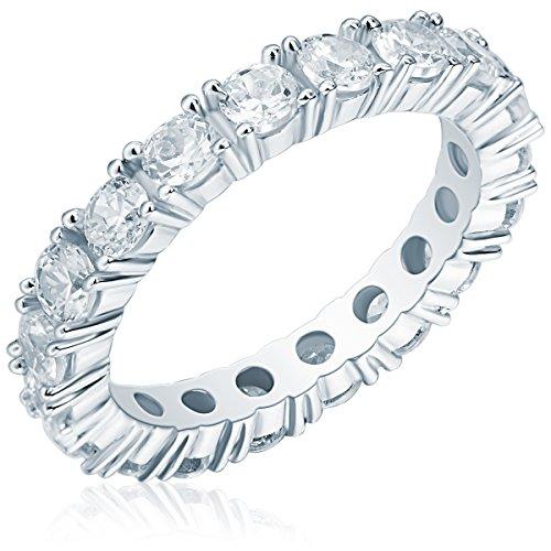Rafaela Donata Damen-Ring Classic Collection 925 Sterling Silber Zirkonia weiß Gr. 60 60800110