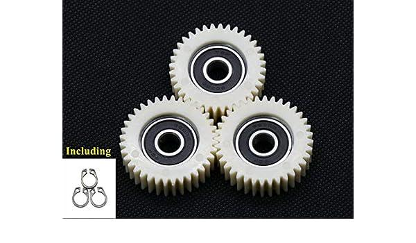 chuancheng 3 St/ück 36 Z/ähne E-Bike Radnabenmotor Planetengetriebe mit Lager f/ür Bafang Motor