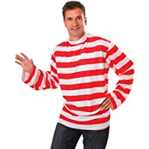 Striped - Disfraz de Wally para hombre, talla 52 - 54 (AC175)