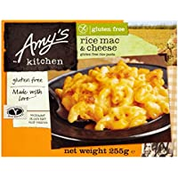 Amy's Kitchen Libre De Queso Macarrones 255g Sin Gluten congelado (Pack de 6)