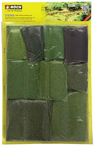 Noch 07066 Fibra dell'erba-range, corto, lunghezza di fibra di 1,5 mm e 2,5 mm