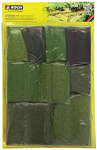 NOCH 07066 Paisaje parte y accesorio de juguet ferroviario - Partes y accesorios de juguetes ferroviarios (Paisaje, NOCH, Verde) , Modelos/colores Surtidos, 1 Unidad
