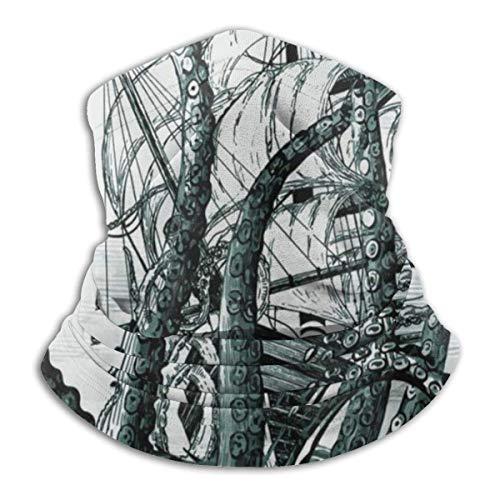 Multifunktions-Nackenmaske, Abstract Octopus Reversible Ear Headband Mask Ultimative thermische Retention Vielseitigkeit, für Männer