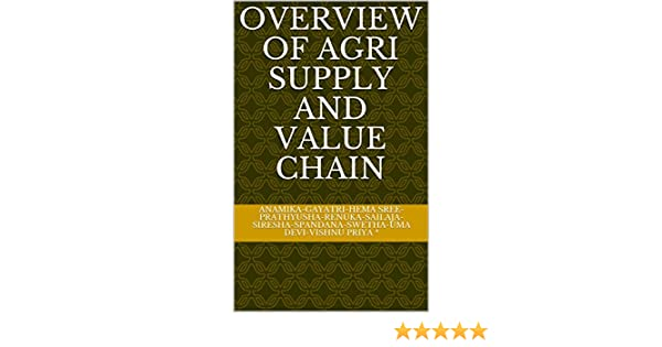 Overview of Agri Supply and Value Chain