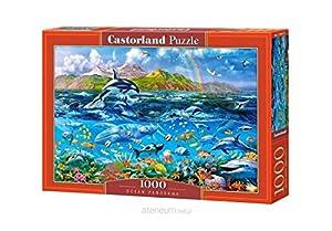 CASTORLAND C-104017 - Sierra de Cortar (1000 Piezas), diseño panorámico del océano