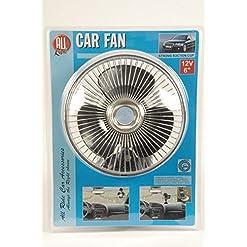 All Ride 871125272229 Ventilatore, 12V, con ventosa