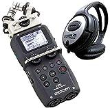 Zoom H5 mobiler Mehrspur-Recorder + KEEPDRUM Kopfhörer