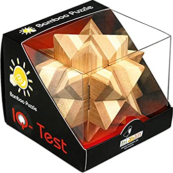 Lifetime 85450 - Puzzle - Casse Tête en Bois x 4 - 7 cm