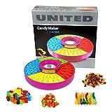 United® Süßigkeitenmaschine für Gummibärchen und andere Süßigkeiten Pro Durchgang können bis zu 41 Süßigkeiten hergestellt werden. 4 lustige Formen: Ringe, Flaschen, Würmer und Bärchen. Einfach zu reinigen. Ein Spaß für die ganze Familie. Für Kinder ab 8 Jahren geeignet.