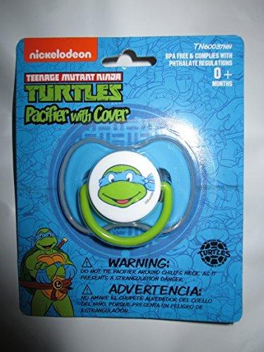 teenage-mutant-ninja-turtles-leonardo-baby-schnuller-mit-abdeckung