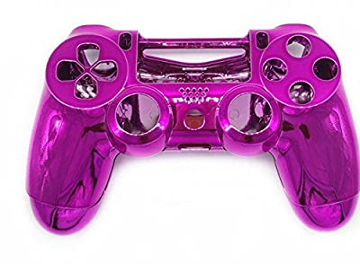 Canamite Chrome Modding Cover for PlayStation PS4DualShock 4Controller Case Shell (Rose) by Canamite