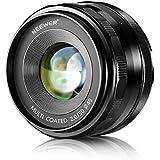 Neewer® 50mm f/2,0 Objectif Fixé Focus Manuelle Premier pour FUJIFILM APS-C Appareil Photo Numérique, Tel que X-A1/A2, X-E1/E2/E2s, X-M1, X-T1/T10, X-Pro1/Pro2 (NW-FX-50-2,0)