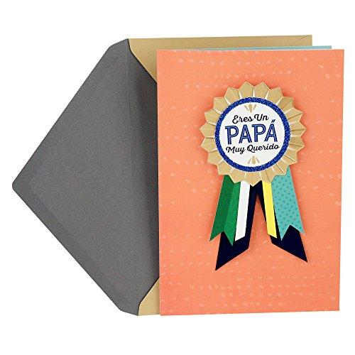 Hallmark VIDA Spanische Vatertagskarte für Papa Beloved Father