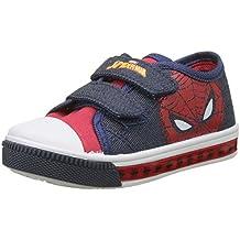 Spiderman Boys Kids Low Sneakers, Zapatillas Para Niños