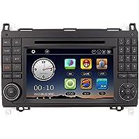 """KKmoon 7"""" 2 DIN Coche Reproductor Multimedia DVD GPS Navegador In-Dash PC Estereo Unidad Principal para Mercedes-Benz A B Class Viano Vito Sprinter + Libre Pais Tarjeta + Libre Tarjeta"""