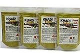 #7: Khadi Mehendi (Heena Leaves Powder) (100 % HERBAL) pack of 4 x 100 gms