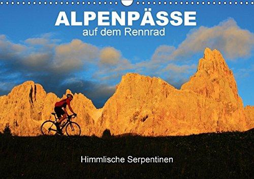 """Preisvergleich Produktbild Alpenpässe auf dem Rennrad """"Himmlische Serpentinen"""" (Wandkalender 2017 DIN A3 quer): 12 faszinierende Radsportmotive in den Alpen (Monatskalender, 14 Seiten ) (CALVENDO Sport)"""