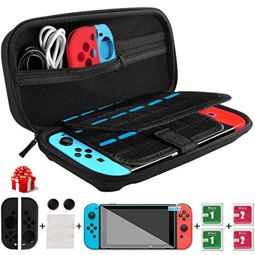 Nintendo switch console weio premium housse switch avec 29 for Housse nintendo switch