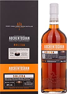 Auchentoshan Solera Single Malt Whisky from Auchentoshan