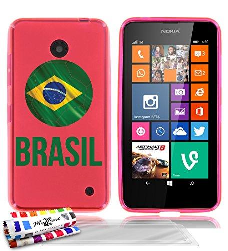 custodia-flessibile-finissima-rosa-originale-di-muzzano-dal-modello-pallone-da-calcio-brasil-per-nok